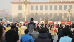 De kinesiska årliga perioderna av 12th NPC och CPPCC Royaltyfria Bilder