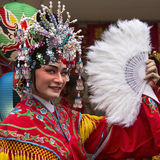 Kinesiska berömmar för nytt år - Bangkok - Thailand Royaltyfria Foton