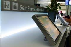 De kiosken van de zelfbedieningscontrole Royalty-vrije Stock Afbeelding