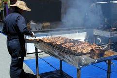 De Kip van de barbecue royalty-vrije stock foto