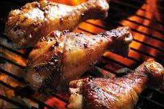 De Kip van de barbecue stock foto's