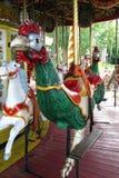 De Kip van de carrousel Stock Afbeelding
