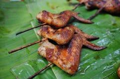 De kip van de grill Stock Afbeeldingen