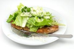 De Kip van de parmezaanse kaas Stock Foto's