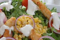 De kip van de salade Stock Afbeelding