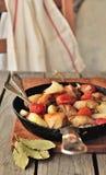 De Kip van de tomaat en van de Mosterd Stock Foto's