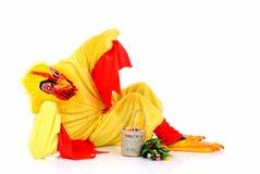 De kip van Pasen Stock Foto