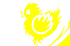 De Kip van Pasen Royalty-vrije Stock Afbeelding