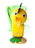 De kip van Pasen Stock Foto's