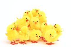 De kippen van het stuk speelgoed Royalty-vrije Stock Fotografie