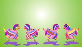 De kippen van Pasen Royalty-vrije Stock Foto's