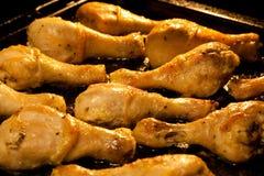 De kippenbenen van het braadstuk Stock Afbeelding