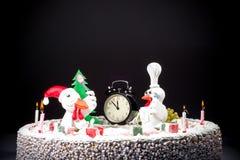 De kippencake van de haancake, kippencake, vogelcake Royalty-vrije Stock Afbeelding