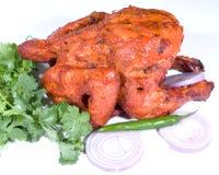 De kippenmaaltijd van Tandoori   Stock Foto
