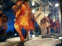 De kippenrijst van Hainanese Straatvoedsel royalty-vrije stock foto's