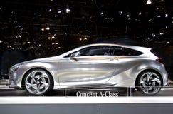 De a-Klasse van Benz van Mercedes de Auto van het Concept Royalty-vrije Stock Fotografie