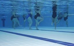 De klasse van de aerobics Stock Foto's