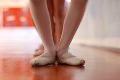 De Klasse van het ballet stock fotografie