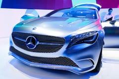De a-Klasse van het Concept van Mercedes-Benz Stock Afbeeldingen