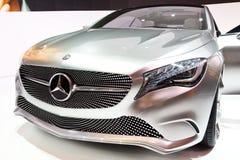 De a-Klasse van het Concept van Mercedes-Benz Stock Foto's