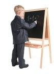 De klasse van Math Stock Afbeeldingen