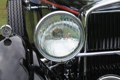 Klassieke Amerikaanse auto uitstekende koplamp Royalty-vrije Stock Fotografie