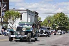 De Klassieke Auto's van Duesenberg Royalty-vrije Stock Afbeeldingen