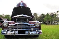 De klassieke auto van Bourgondië Royalty-vrije Stock Afbeelding