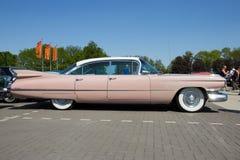 1959 de klassieke auto van Cadillac Sedan DE Ville Stock Afbeelding