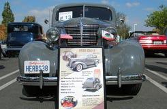 De klassieke auto van Chevrolet van 1938 Stock Afbeelding
