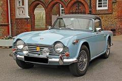 De klassieke auto van de triomf TR4 stock fotografie