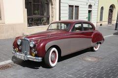 De klassieke auto van Jaguar Stock Afbeelding
