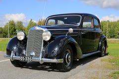 De Klassieke Auto van Mercedes-Benz 170S Stock Afbeelding