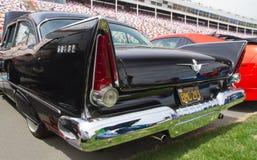 De klassieke Auto van Plymouth van 1957 royalty-vrije stock afbeeldingen