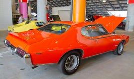 De klassieke Auto van Pontiac GTO van 1969 Stock Foto's