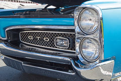 De klassieke Auto van Pontiac GTO van 1967 Stock Afbeeldingen