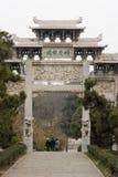 De klassieke bouw in Chinees park Stock Foto's
