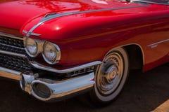 De klassieke Convertibele Koplamp van Cadillac Royalty-vrije Stock Foto's