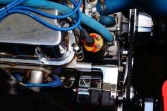 De klassieke details van de motor van een autoinham Royalty-vrije Stock Foto