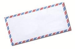 De klassieke geïsoleerde envelop van de luchtpost Royalty-vrije Stock Foto