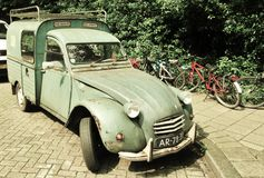 De klassieke goed-Gehouden van Bestelwagen van Citroën 2CV Royalty-vrije Stock Fotografie