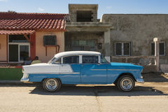 De klassieke jaren '50 Havana van Chevrolet Bel Air Stock Afbeeldingen