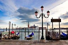 De klassieke mening van Venetië Stock Foto