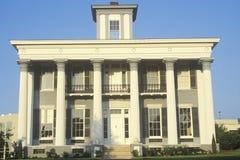 De klassieke Oude architecturale stijl van het Zuiden stock afbeeldingen