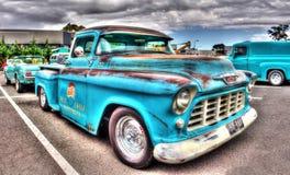 De klassieke pick-up van jaren '50pepsi-cola Chevy Stock Afbeelding