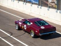 De klassieke raceauto van Ford Mustang Royalty-vrije Stock Foto's