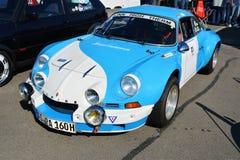 De klassieke sportwagen van Renault Alpine A110 Berlinette Stock Foto's