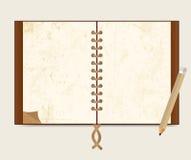 De klassieke stijl van het notaboek Royalty-vrije Stock Afbeeldingen