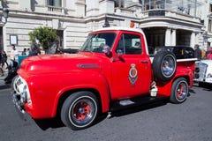 De klassieke Vrachtwagen van Ford F 100 Royalty-vrije Stock Afbeeldingen