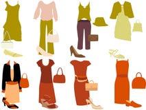 De kleding van Casuale Royalty-vrije Stock Afbeelding